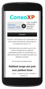 Site ConsoXP